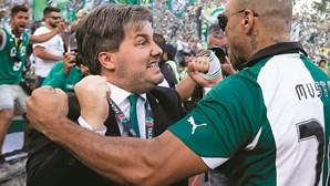 Bruno de Carvalho na mira das autoridades no âmbito do processo Cashball