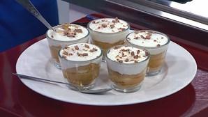 'La Dolce Rita' ensina a fazer tarte de lima e 'banoffee'
