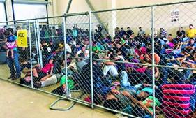 Campos de detenção têm todas as celas sobrelotadas