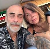 Diogo Piçarra e a namorada