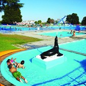 Complexo das piscinas municipais de Évora