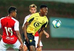 Leão marcou na vitória do Lille (2-0) sobre o Sp. Braga, na sexta-feira