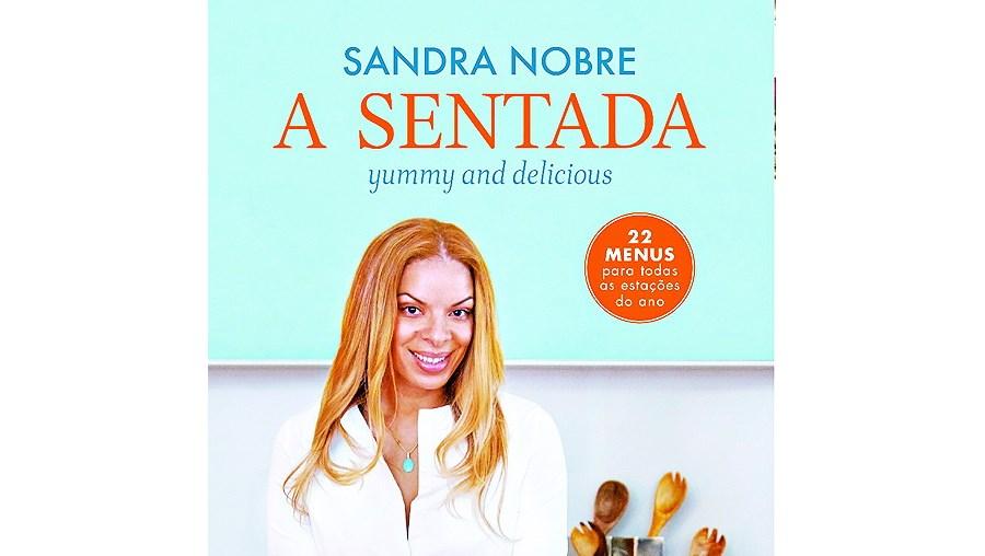 Livro  'A Sentada' de Sandra Nobre