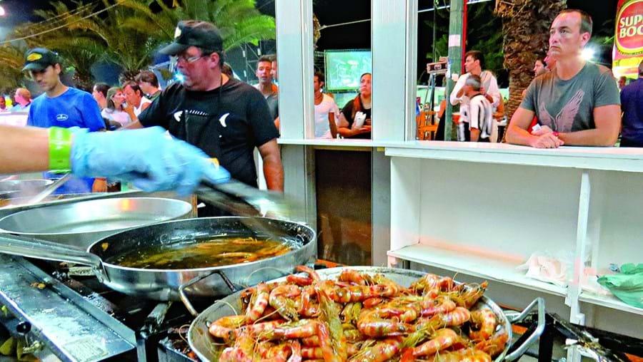 Marisco da ria Formosa é o grande destaque do festival gastronómico que começa no próximo dia 9 de agosto