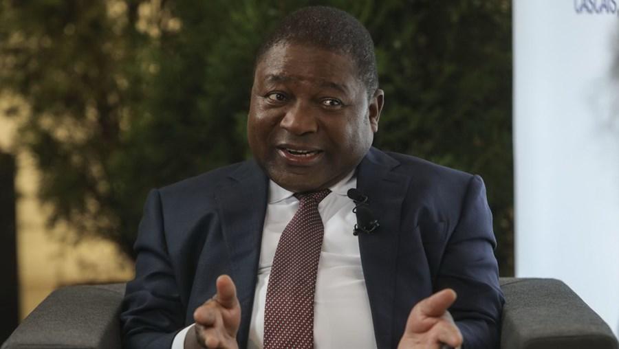 Filipe Nyusi, presidente moçambicano