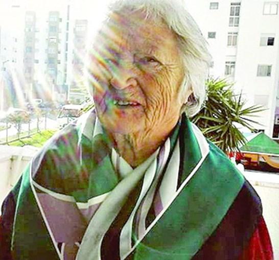 Raquel, de 70 anos, foi colhida na passadeira