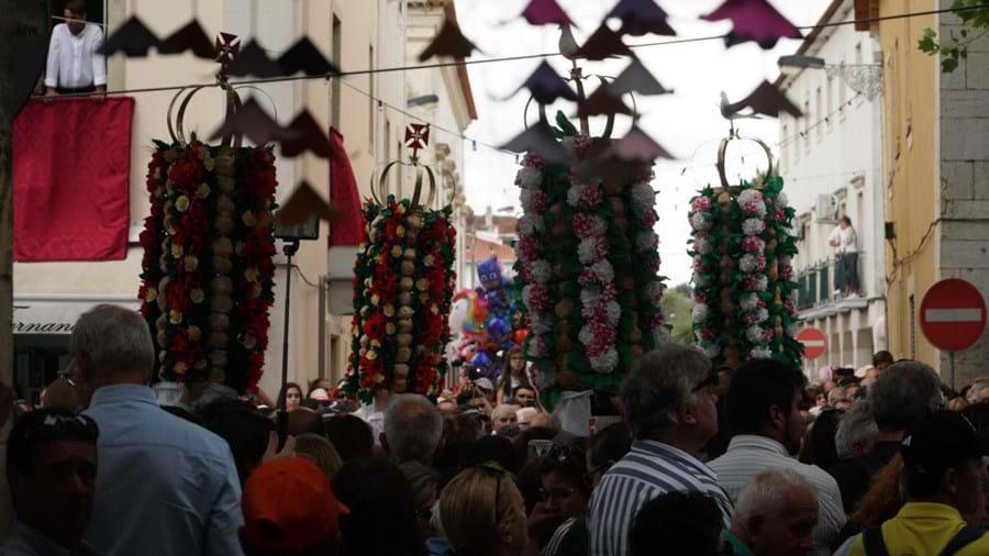 Festa dos Tabuleiros, em Tomar