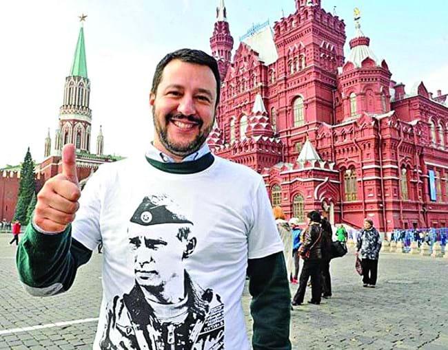 Matteo Salvini é o líder do Liga, o maior partido de extrema-direita italiano