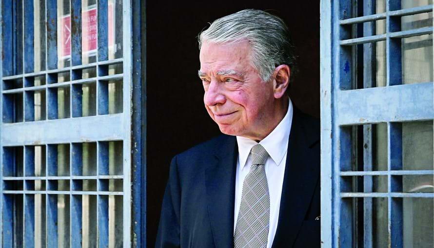 Ricardo Salgado, ex-líder do BES e do Grupo Espírito Santo (GES) durante mais de 20 anos