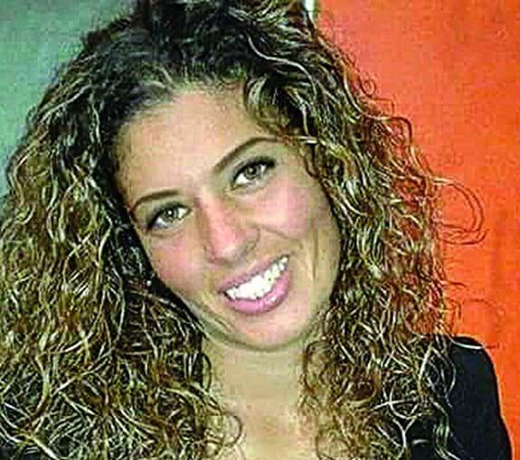 Daniela Pinto ficou ferida com estilhaços dos vidros