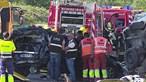 Dia trágico nas estradas faz três mortos