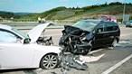 Carro em contramão choca e fere cinco crianças em Proença-a-Nova