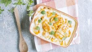 Receita deliciosa para a família: conchas recheadas com abóbora