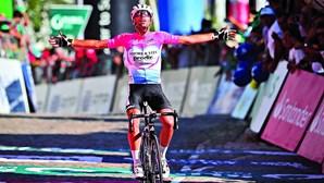 Italiano Tizza vence isolado na Guarda na quinta etapa da Volta a Portugal