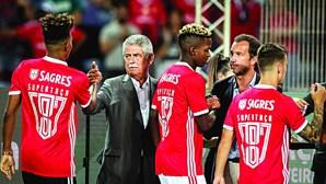 Luís Filipe Vieira pede arranque demolidor ao plantel do Benfica
