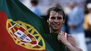 Carlos Lopes, o herói de ouro nos Jogos Olímpicos de Los Angeles em 1984