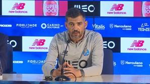 """Sérgio Conceição: """"Danilo? Não tenho necessidade de mentir"""""""