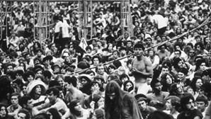 Português ficou a 5 Km do Woodstock