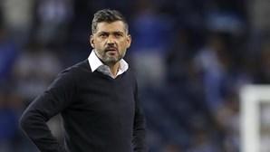 """Sérgio Conceição admite culpa e diz que nunca será """"um problema"""" para o FC Porto"""