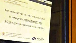 PSP com ordem para fechar esquadras à noite