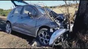 Despiste mata casal de idosos na EN260 em Beja
