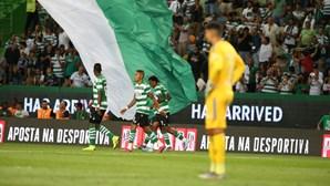Vitória suada em Alvalade. Leões somam a primeira conquista no campeonato frente ao Sp. Braga