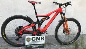 GNR recupera bicicleta roubada em Sintra no valor de 6500 euros