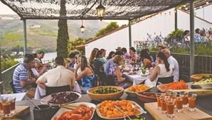 Tim's Terrace: saboroso terraço com o Douro à vista
