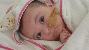 Donativos de 2,5 milhões de euros retidos pela família da bebé Matilde