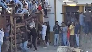 Homem de 29 anos colhido por touro nas festas de Barrancos