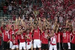 Benfica conquista a oitava Supertaça