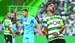 Bruno Fernandes tem vários clubes ingleses interessados e poderá deixar Alvalade em breve