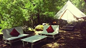 Senses Camping, na Serra da Estrela