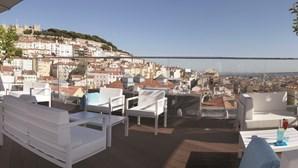 Rooftop do Hotel Mundial em Lisboa