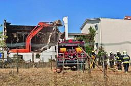 Incêndio destrói salão paroquial em Alcobaça