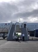 Avião do DeltaAirLines danificado após aterragem em dificuldades