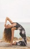 Joana Duarte pratica ioga