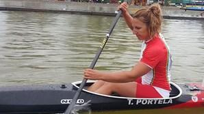 Canoísta Teresa Portela
