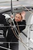 Greta Thunberg chega a Nova Iorque após viagem alternativa