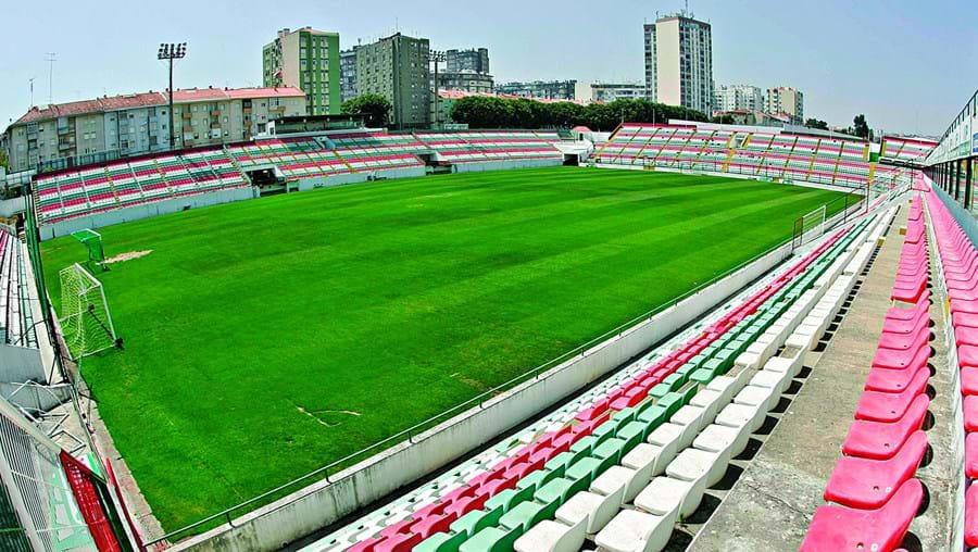 Estádio José Gomes, do Estrela da Amadora