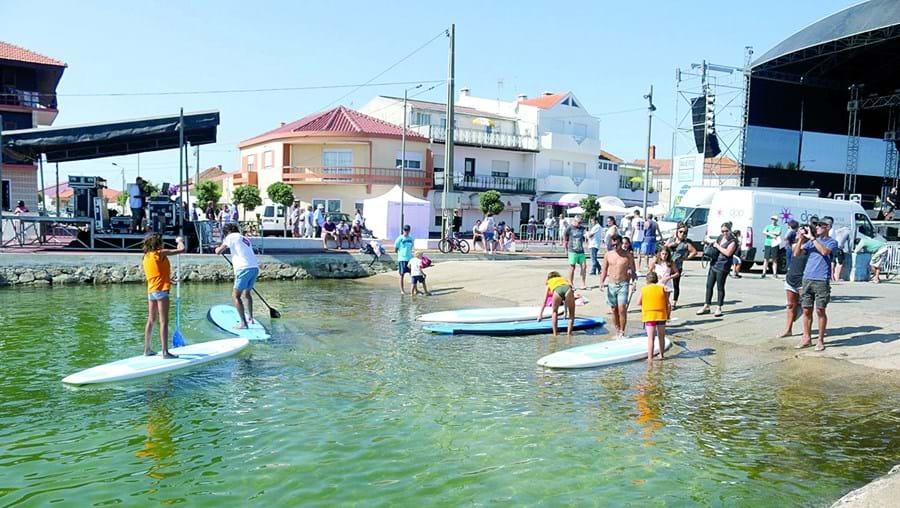 À semelhança do ano passado, o festival irá este ano contar com muitas atividades náuticas