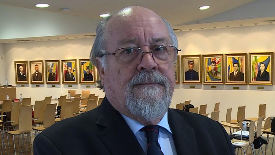 Presidente da Liga Portuguesa de Bombeiros, Jaime Marta Soares