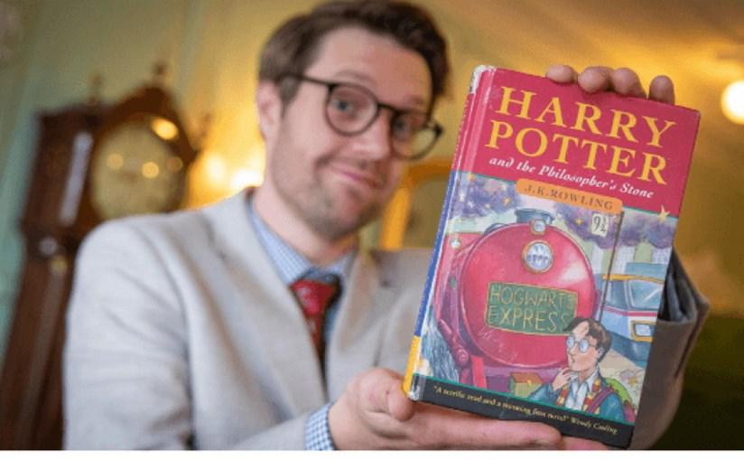 Primeira edição rara da saga Harry Potter vendida por 31 mil euros