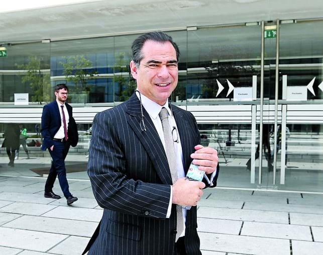 Dívida de Nuno Vasconcellos, de 356 milhões, está toda em incumprimento