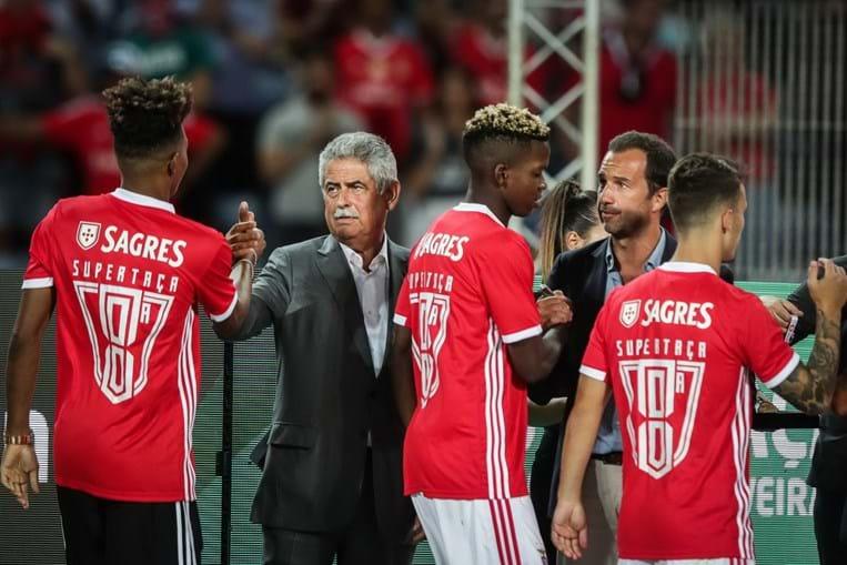 Presidente das águias reagiu à conquista da Supertaça frente ao Sporting por 5-0.
