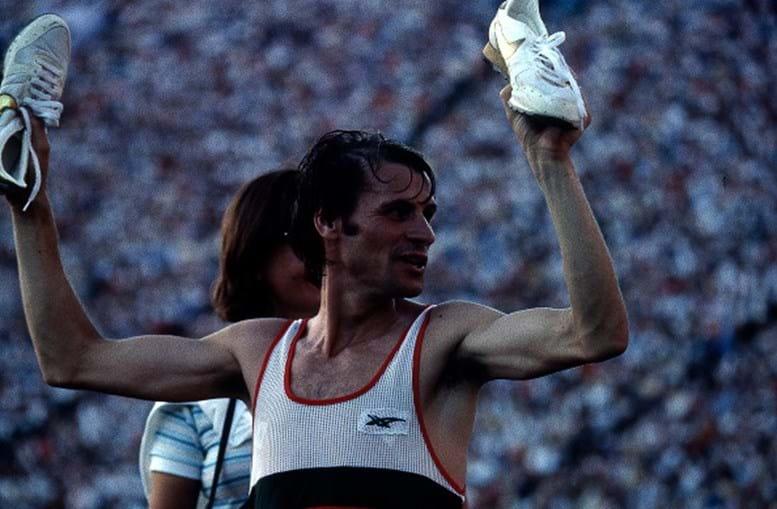 Carlos Lopes, o herói de ouro em Los Angeles. Campeão Olímpico em 1984