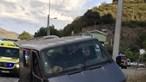 Cinco feridos após despiste de carrinha em Tabuaço