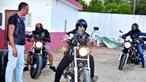 Bombeiros motards reunidos em aniversário em Silves