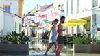 Maiores marés do ano inundam ruas no Algarve