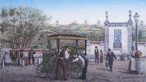 D'Assis Cordeiro pinta primeiro carro que circulou em Portugal
